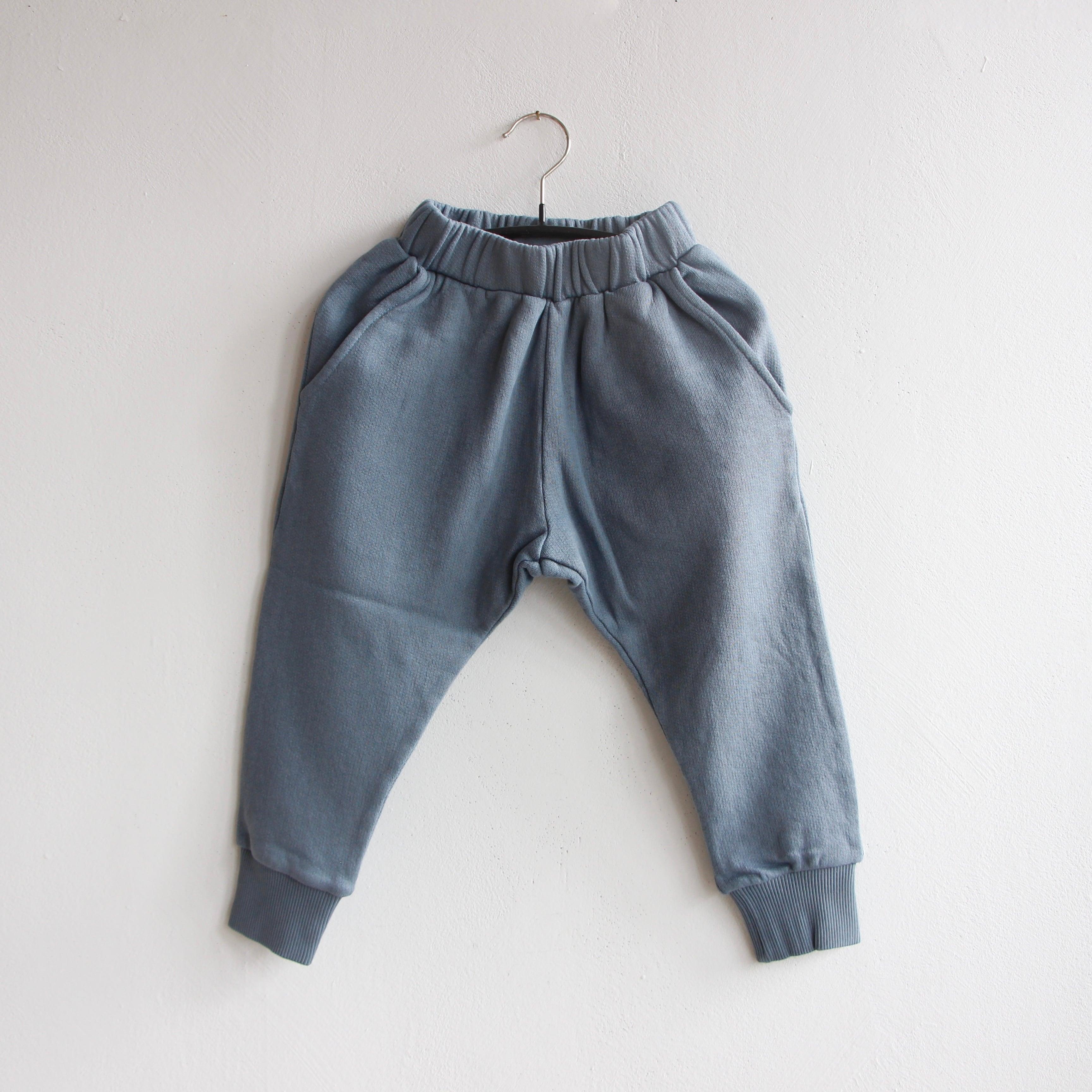 《WOLF & RITA 2021AW》AMADEU trousers / BLUE