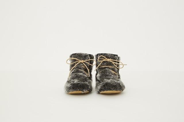 【21AW】eLfinFolk(エルフィンフォルク)Fur boots by chamny(18cm/19cm) ブーツ シューズ ファー