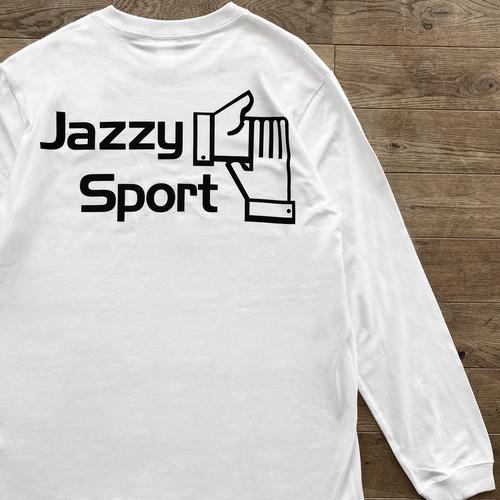 【ラスト1】JS ロゴ ロングスリーブ Tシャツ/ホワイト