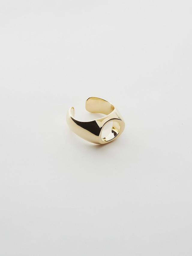 WEISS Nuance Oval Ring Gold wei-rggd-01