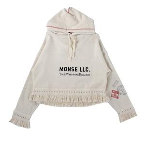 MONSE Tweed Hoodie