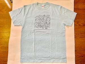 いいカモTシャツ*ライトブルー