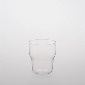 TG glass (ティージーガラス) Glass cup curved (耐熱ガラス) 250ml