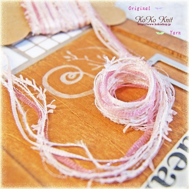 §koko§ 引き揃え糸カード ~エレガント~オリジナル糸 ファンシー ラッピング レース タッセル
