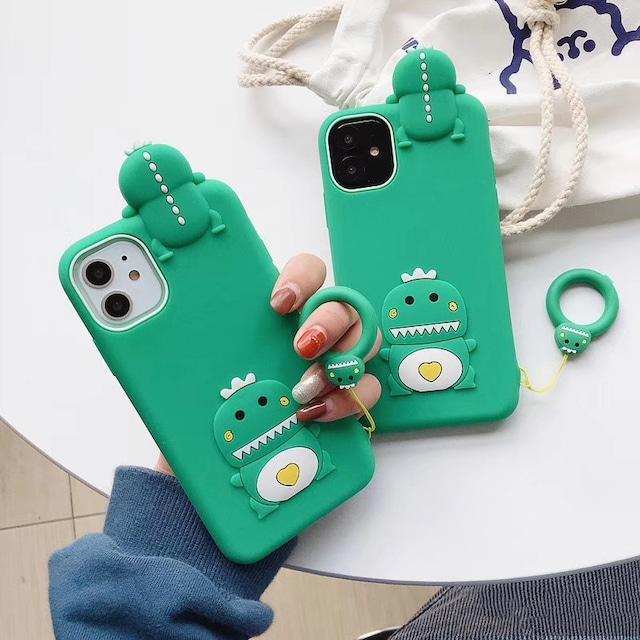 3D dinosaur iphone case