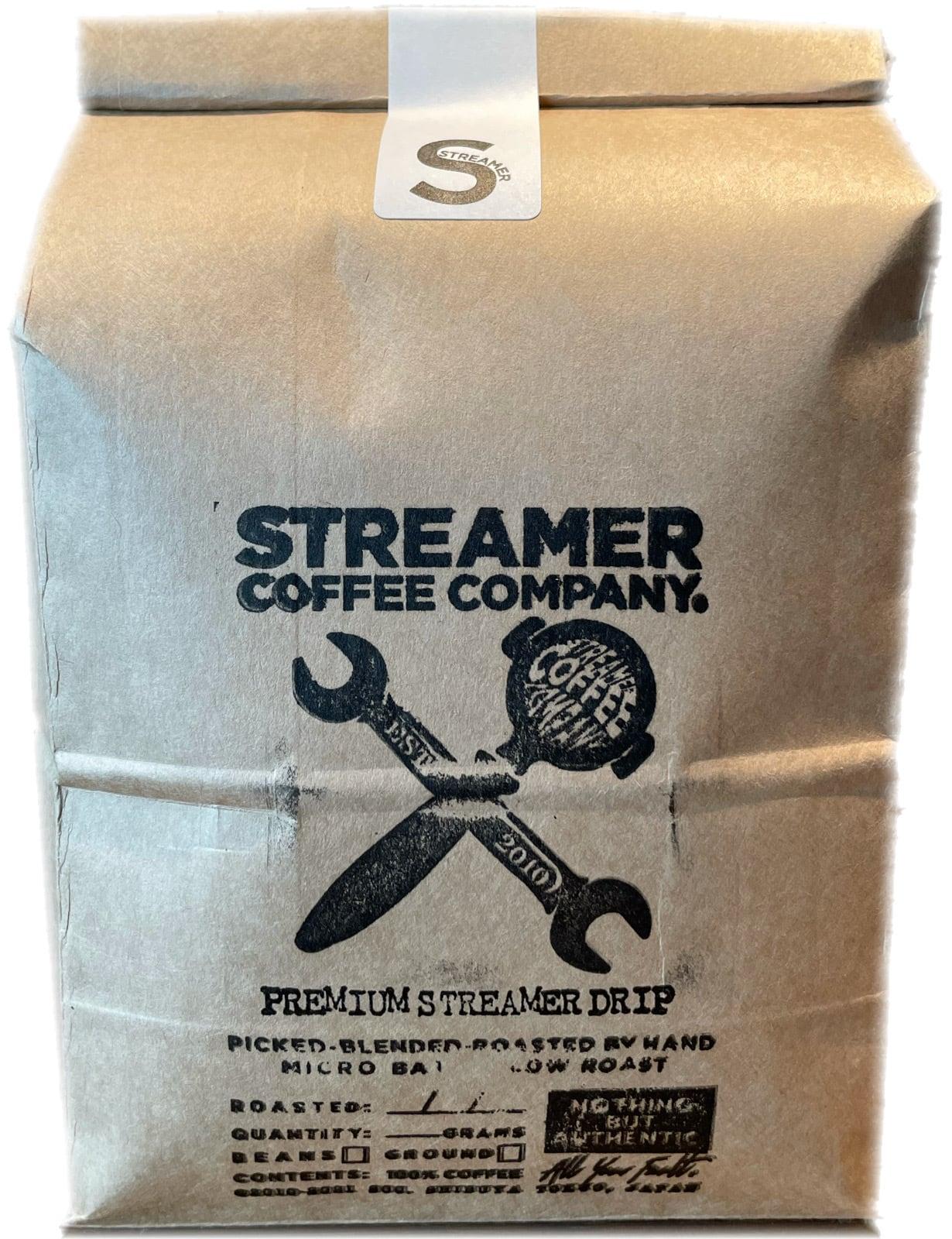 プレミアムストリーマードリップ コーヒー PREMIUM STREAMER DRIP  500g  豆のまま(エチオピア・ブラジル)