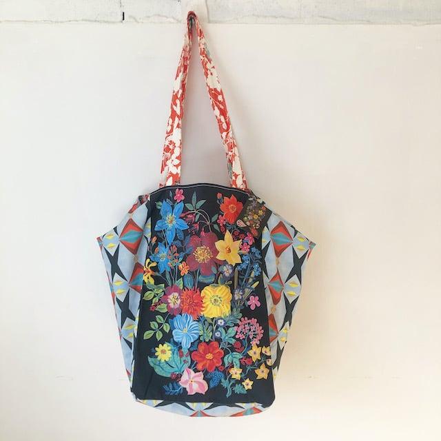 "Nathalie Lete "" Bouquet Market Bag"" ナタリーレテ マーケットバッグ"