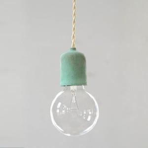 Socket Lamp Bronze Patina|青銅緑青