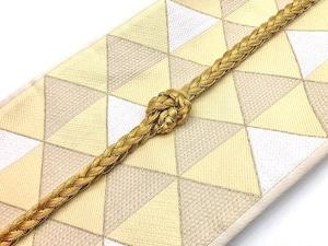 帯締め【エブルイサント】三つ編み