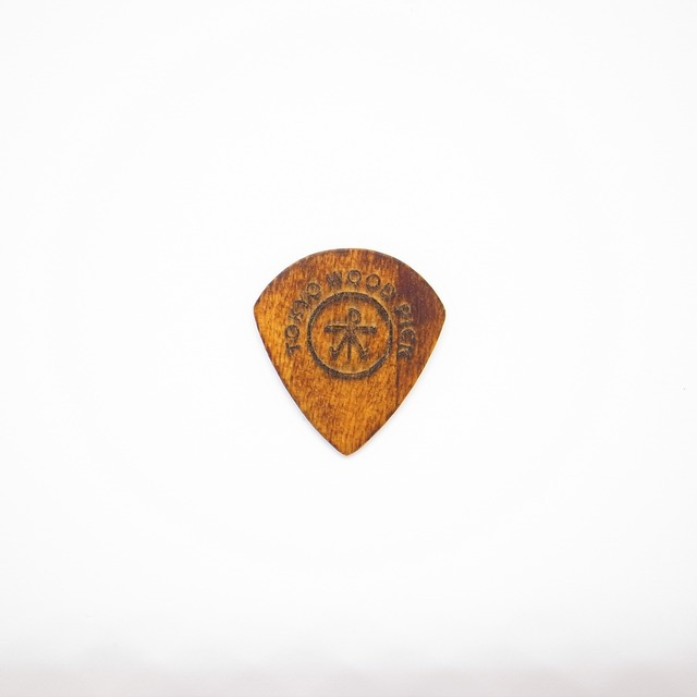 Triangle型 | ギターピック TOKYO WOOD PICK Black