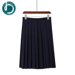 コスチューム jk制服 スカート 無地 黒 ネイビー 紺 プリーツスカート 大きいサイズ レディース 可愛い 9892