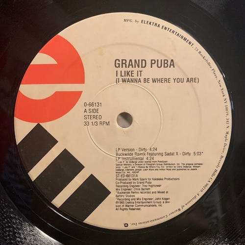 Grand Puba - I Like It (I Wanna Be Where You Are) / A Little Of This