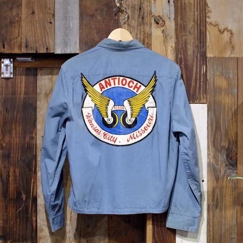 1960s BLUE BELL MC Cotton Jacket / 60年代 モーターサイクル カー クラブ ジャケット