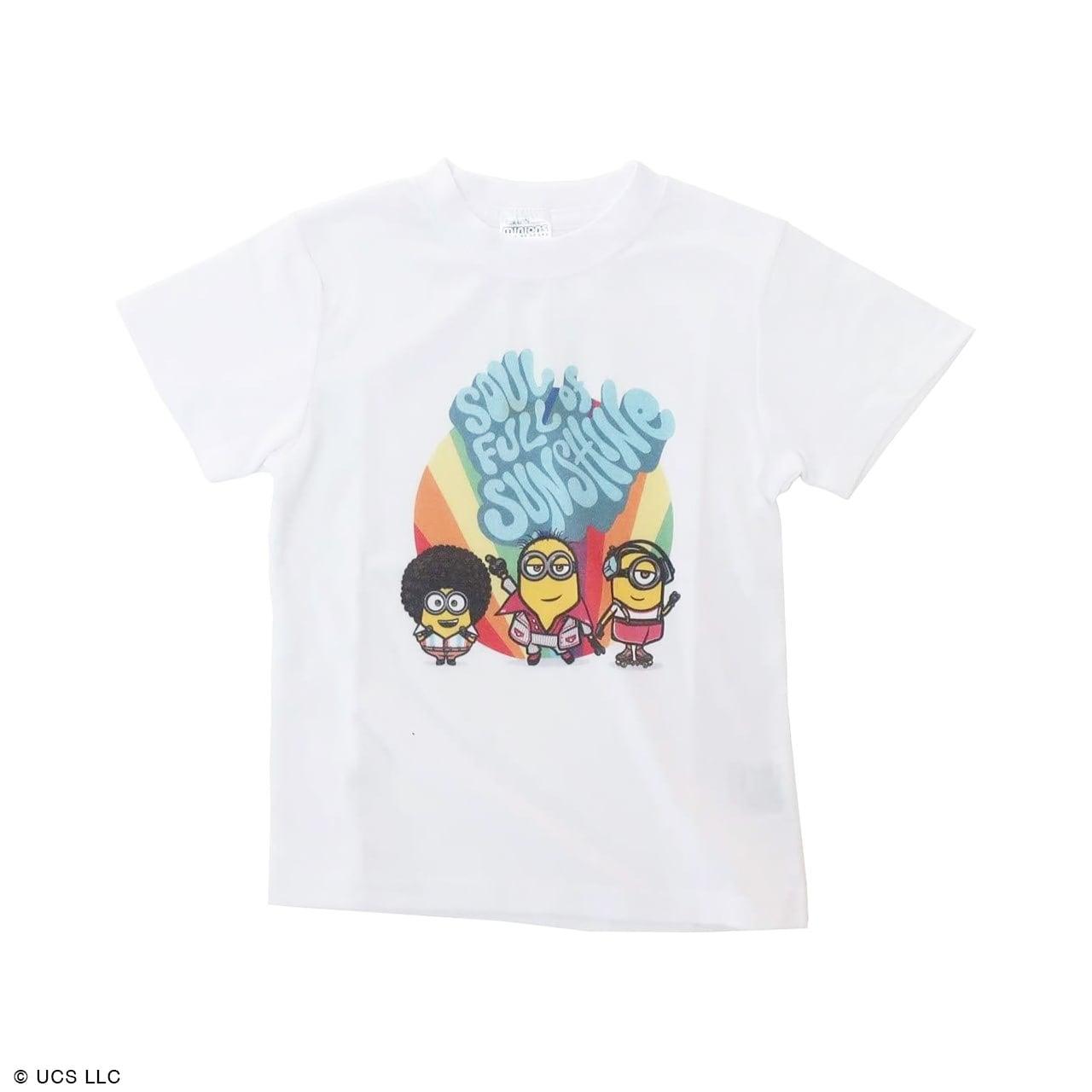 キッズTシャツ/ミニオン(映画『ミニオンズ フィーバー』 70's)