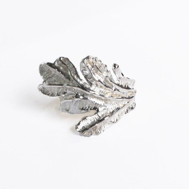 conoa (コノア) みずくさの指飾り silver