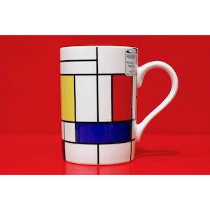 モンドリアン01<マグカップ>KONITZ 浜松雑貨屋 C0pernicus(電子レンジ、食器洗浄機にも対応)