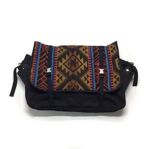 メッセンジャーバッグ Vintage Messenger Bag red brown 【messenger08】