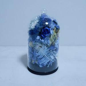 青いガラスドーム