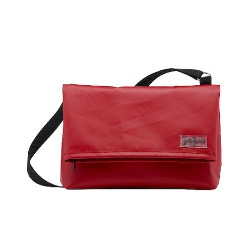 Shoulder A-Bag Small Red