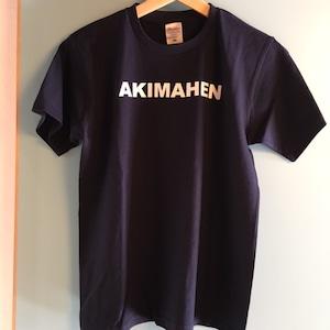 AKIMAHEN Tシャツ 紺
