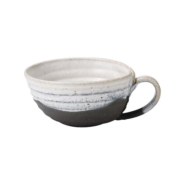 信楽焼 へちもん スープ マグカップ 約420ml 掛け分け MR-3-3309