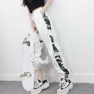 【ボトムス】絶対流行ストリート系スボーツ系ハイウエストカジュアルパンツ20520272