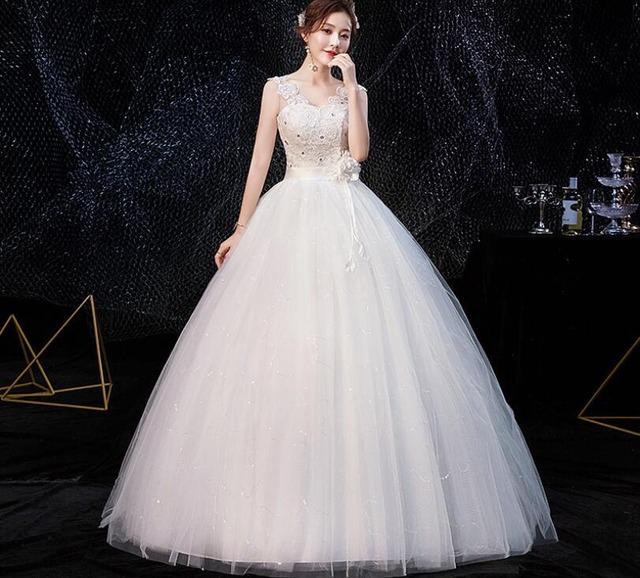 キャミソールロングホワイトドレス