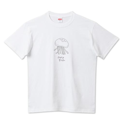 シンプル海月 / 5.6ハイクオリティーTシャツ(United Athle)