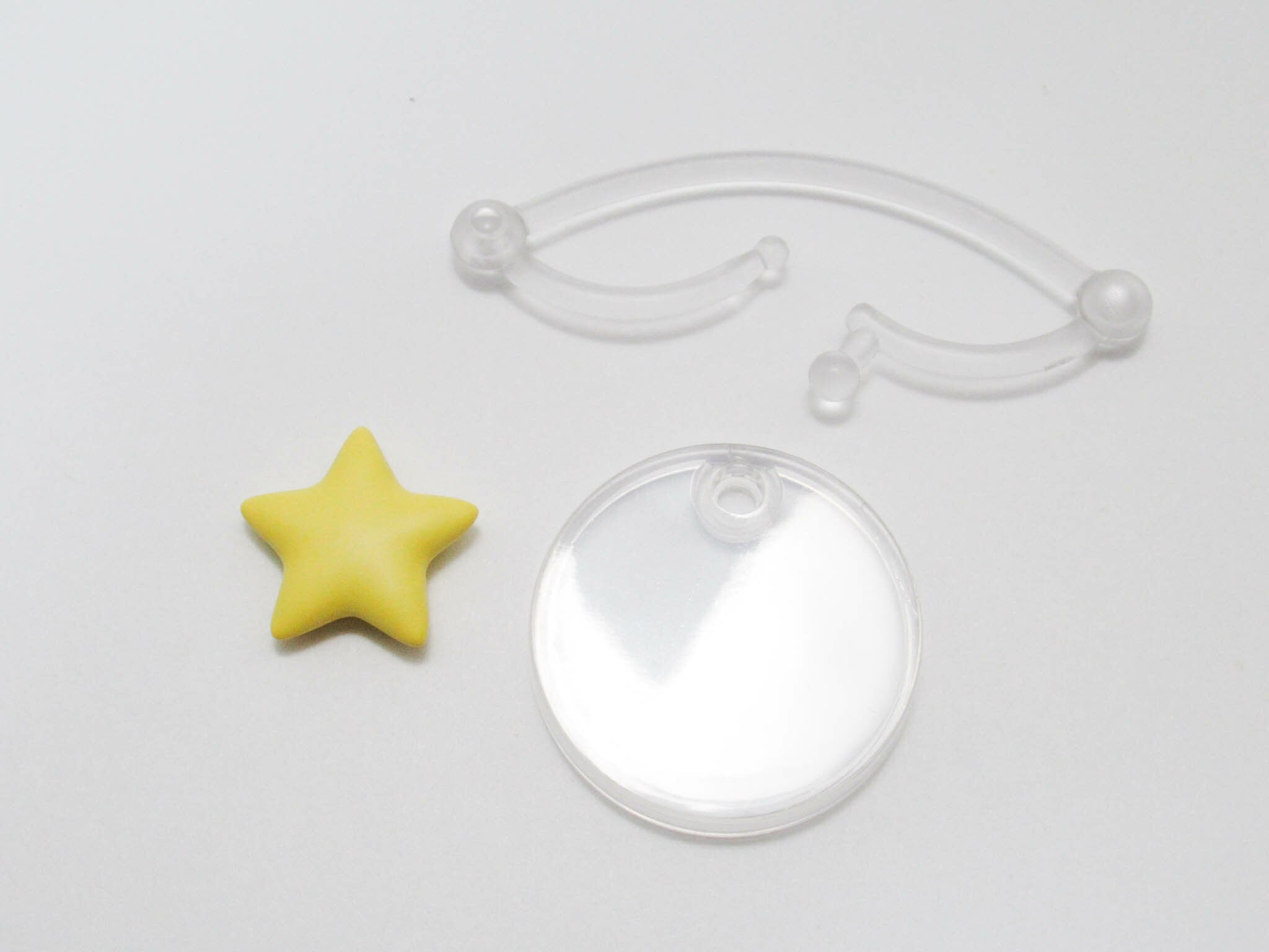 【SALE】【1088】 アメリカ 小物パーツ 星エフェクト ねんどろいど