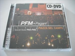 【CD+DVD】PFM / PIAZZA DEL CAMPO