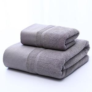 5902タオル2枚セット フェイスタオル バスタオル 厚手 大判 綿100% 吸水抜群 ホテル仕様 柔らか 肌触り 吸水速乾 ふわふわ