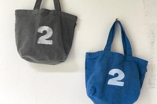 2ナンバー製品染めトートバッグ