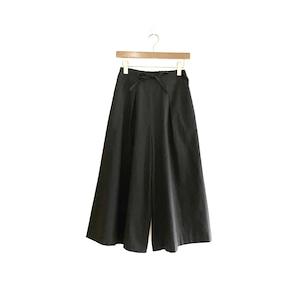 C-30426 【Tamiyo】Cotton/Wool Plain Cloth Pants