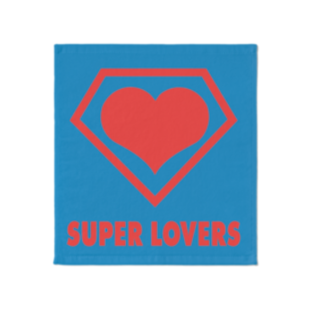 SUPER LOVERS logo/スーパーラヴァーズタオル