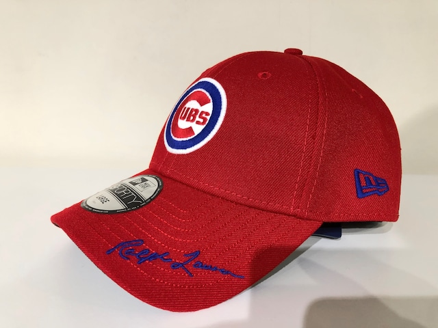 NEW ERA x POLO RALPH LAUREN COOPERSTOWN 49FORTY CHICAGO CUBS (RED)