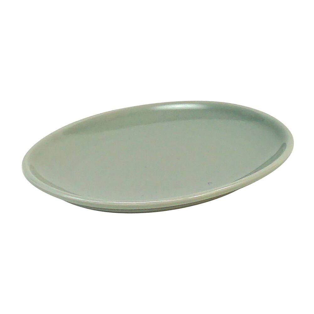 西海陶器 波佐見焼 「コモン」 オーバルプレート 皿 150mm グレー 17037