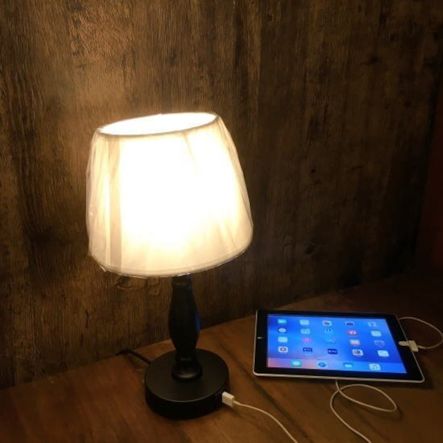 TOPANGA Lighting USBポート付タッチランプ