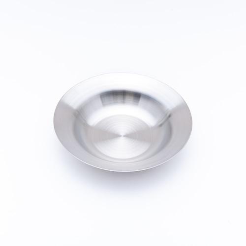 韓国ステンレス食器/パスタ皿/(1号)【直径20.0㎝/高さ4.2㎝】