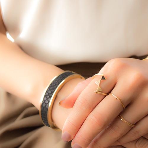 K10 Two-strand Ring
