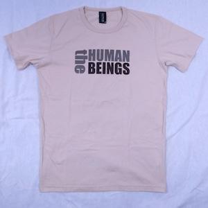 だって人類だもの「the HUMAN BEINGS」Tシャツ