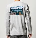 No.2020-welshcorgi-longts003  : 長袖Tシャツ 5.6oz  サーフシリーズ Beach Close NO SURF NO LIFE