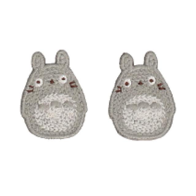 【10月発売予定】となりのトトロ イヤリング(刺繍アクセサリーシリーズ/0793)
