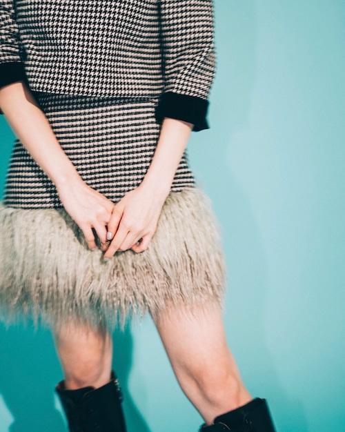 【Lillien Room】IT Girl's Set Up'19-Skirt-