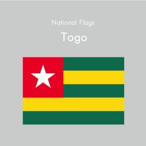 国旗ステッカー トーゴ