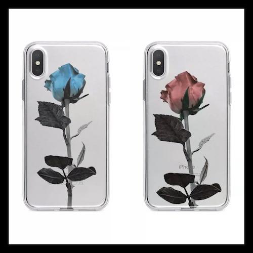【お取り寄せ】シック ローズ iPhoneケース 2色