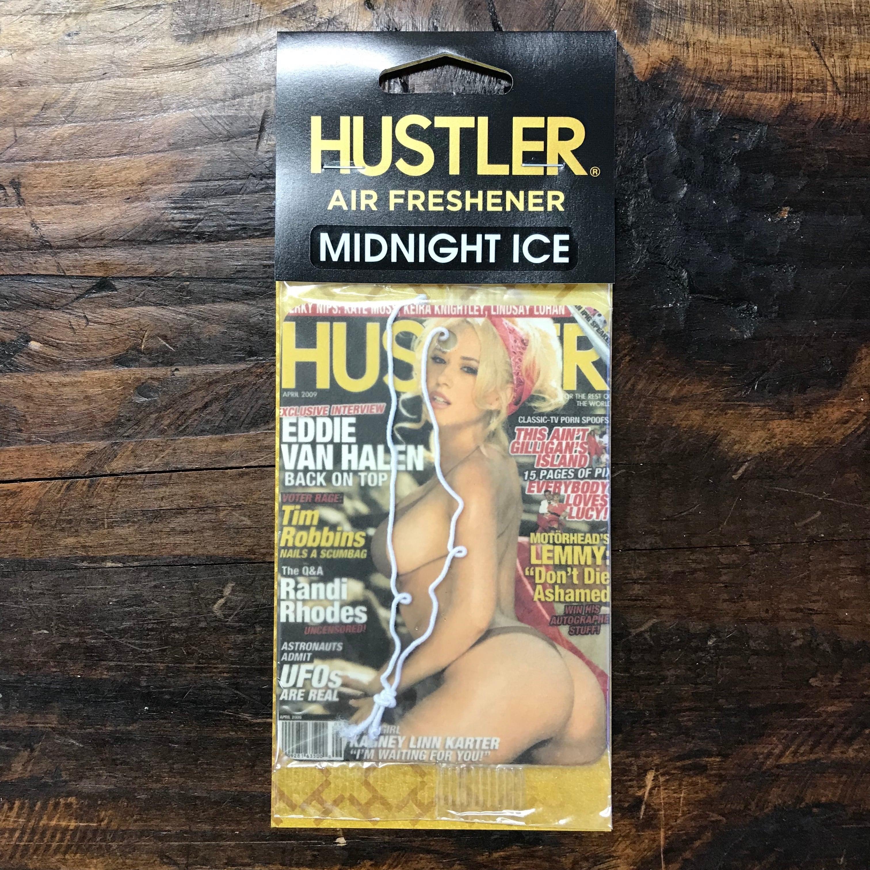HUSTLER・セクシーガールエアフレッシュナー・ミッドナイトアイス(ブラックアイス風)・2009-04