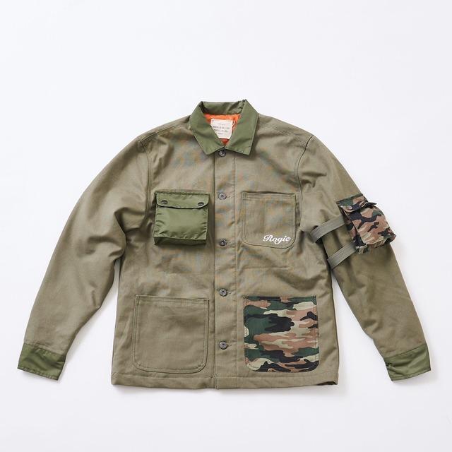 ROGIC Military Jacket  Khaki