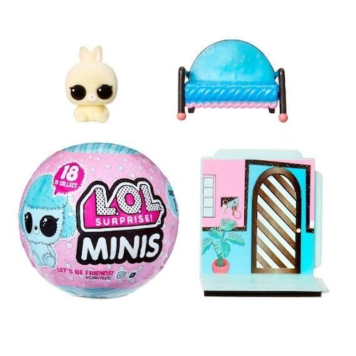L.O.L. Surprise! Minis with 5+ Surprises Fuzzy Tiny Animals