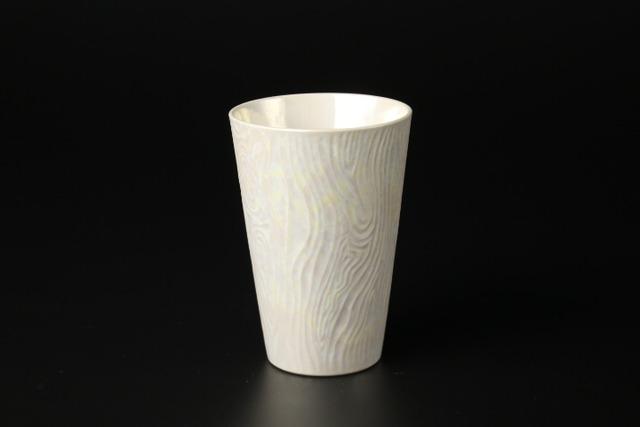 ラスタービアカップ(白) 有田焼