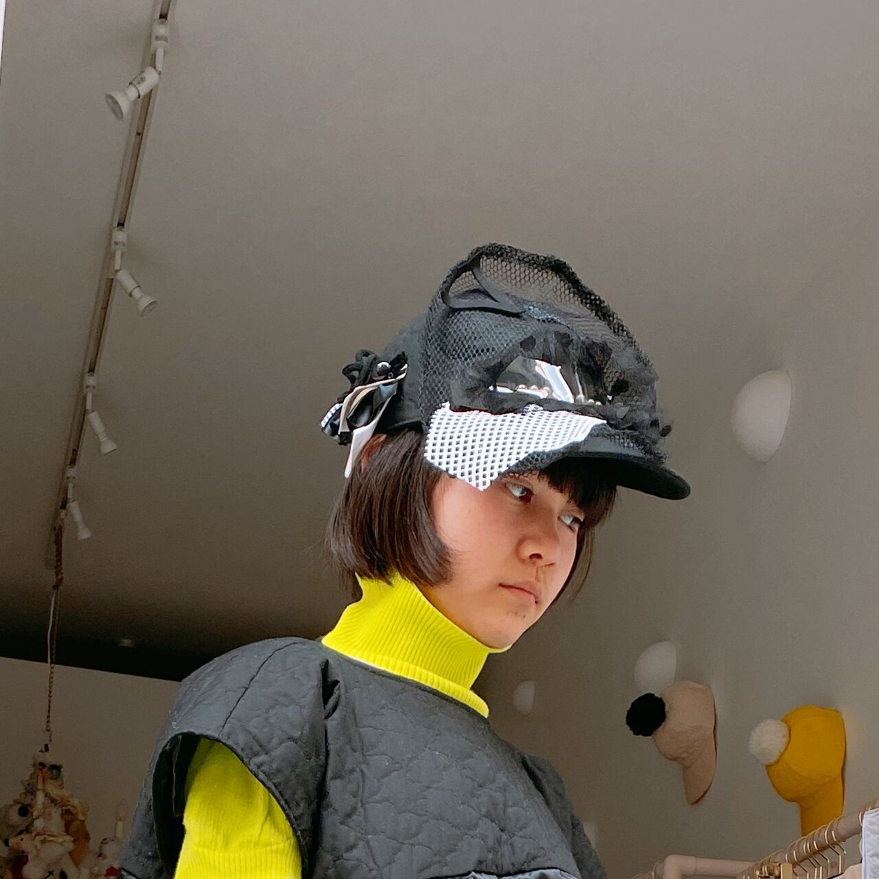 kouitten × frankygrow decorative cap / #6